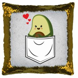 Подушка-хамелеон Avocado in your pocket