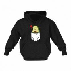 Детская толстовка Avocado in your pocket