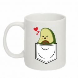 Кружка 320ml Avocado in your pocket