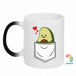 Кружка-хамелеон Avocado in your pocket