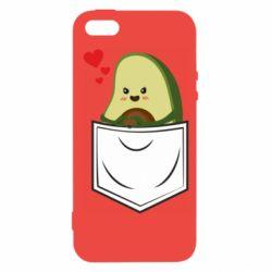 Чехол для iPhone5/5S/SE Avocado in your pocket