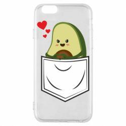 Чехол для iPhone 6/6S Avocado in your pocket