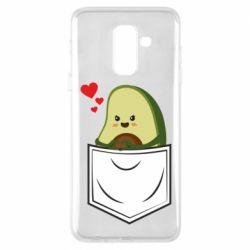 Чехол для Samsung A6+ 2018 Avocado in your pocket