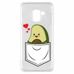 Чехол для Samsung A8 2018 Avocado in your pocket