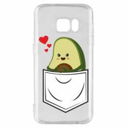 Чехол для Samsung S7 Avocado in your pocket