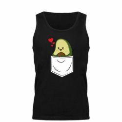 Мужская майка Avocado in your pocket