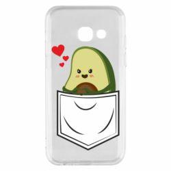 Чехол для Samsung A3 2017 Avocado in your pocket