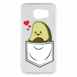 Чехол для Samsung S6 Avocado in your pocket