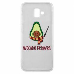 Чохол для Samsung J6 Plus 2018 Avocado kedavra