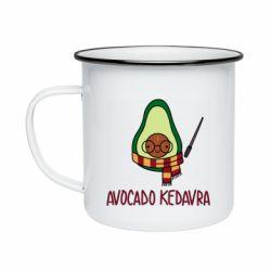 Кружка емальована Avocado kedavra