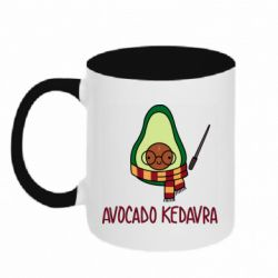Кружка двоколірна 320ml Avocado kedavra