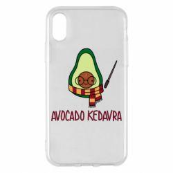 Чохол для iPhone X/Xs Avocado kedavra