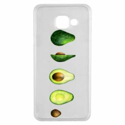 Чехол для Samsung A3 2016 Avocado set