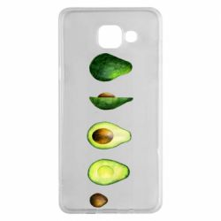 Чехол для Samsung A5 2016 Avocado set