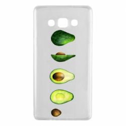 Чехол для Samsung A7 2015 Avocado set