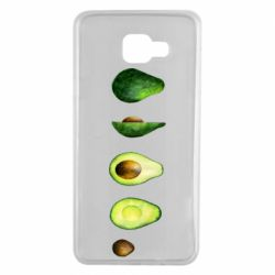 Чехол для Samsung A7 2016 Avocado set