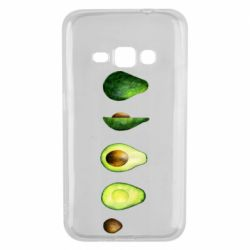 Чехол для Samsung J1 2016 Avocado set