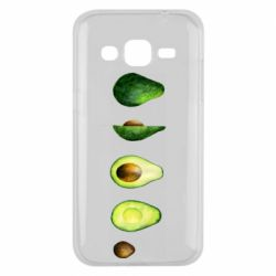 Чехол для Samsung J2 2015 Avocado set