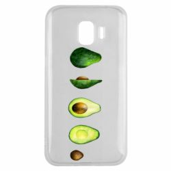 Чехол для Samsung J2 2018 Avocado set