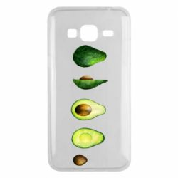 Чехол для Samsung J3 2016 Avocado set