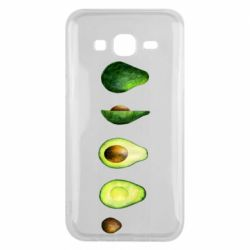 Чехол для Samsung J5 2015 Avocado set