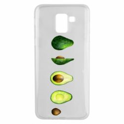 Чехол для Samsung J6 Avocado set