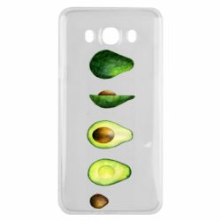 Чехол для Samsung J7 2016 Avocado set