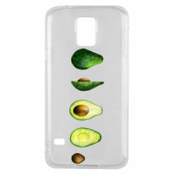 Чехол для Samsung S5 Avocado set