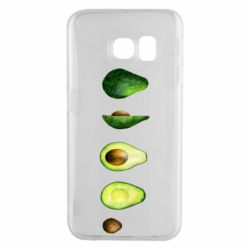 Чехол для Samsung S6 EDGE Avocado set