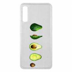 Чехол для Samsung A7 2018 Avocado set