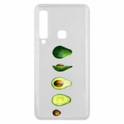 Чехол для Samsung A9 2018 Avocado set
