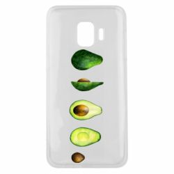 Чехол для Samsung J2 Core Avocado set