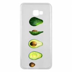 Чехол для Samsung J4 Plus 2018 Avocado set