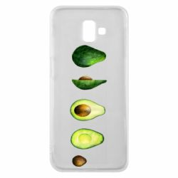 Чехол для Samsung J6 Plus 2018 Avocado set