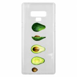 Чехол для Samsung Note 9 Avocado set