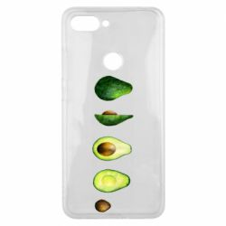 Чехол для Xiaomi Mi8 Lite Avocado set
