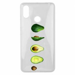 Чехол для Xiaomi Mi Max 3 Avocado set