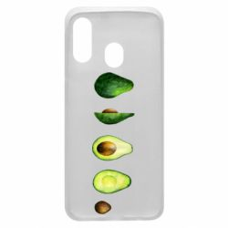 Чехол для Samsung A40 Avocado set