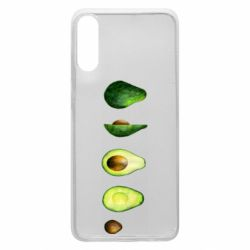 Чехол для Samsung A70 Avocado set