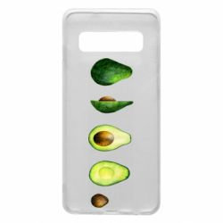 Чехол для Samsung S10 Avocado set