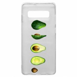 Чехол для Samsung S10+ Avocado set