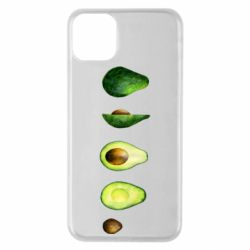 Чехол для iPhone 11 Pro Max Avocado set