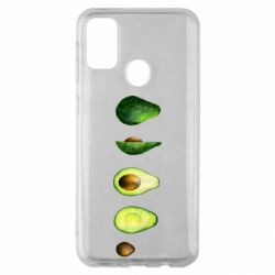 Чехол для Samsung M30s Avocado set