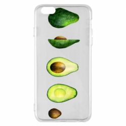 Чехол для iPhone 6 Plus/6S Plus Avocado set