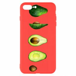Чехол для iPhone 7 Plus Avocado set