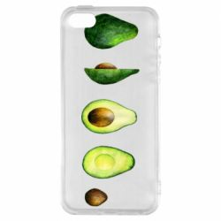 Чехол для iPhone5/5S/SE Avocado set
