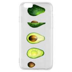 Чехол для iPhone 6/6S Avocado set