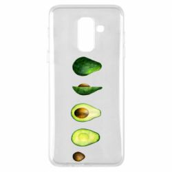 Чехол для Samsung A6+ 2018 Avocado set