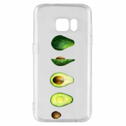 Чехол для Samsung S7 Avocado set