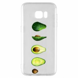 Чехол для Samsung S7 EDGE Avocado set